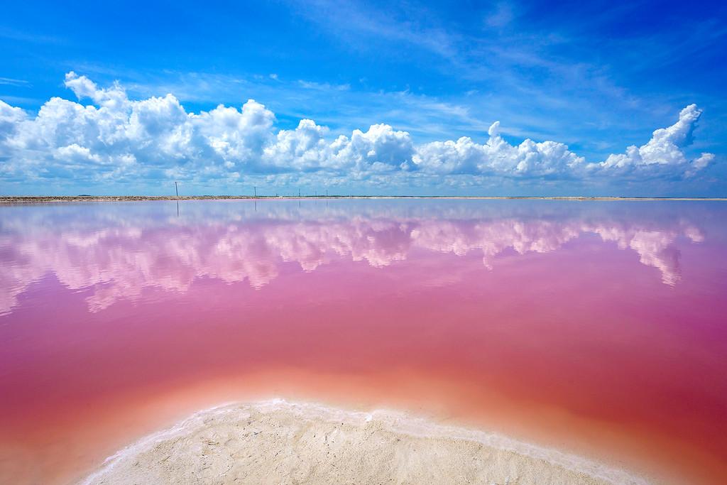 Las Coloradas en la Peninsula de Yucatan
