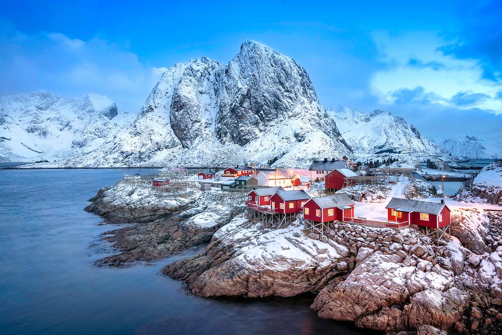 las mejores cámaras de fotos - Islas Lofoten de Noruega