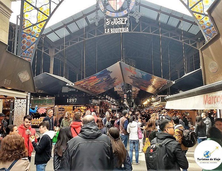 Mercado La Boquería Barcelona 1