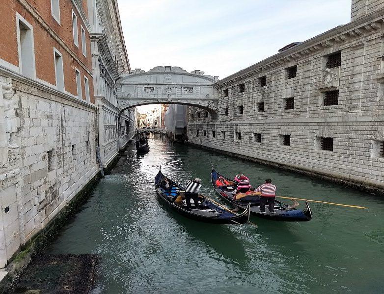 Puente de los suspiros de Venecia 1