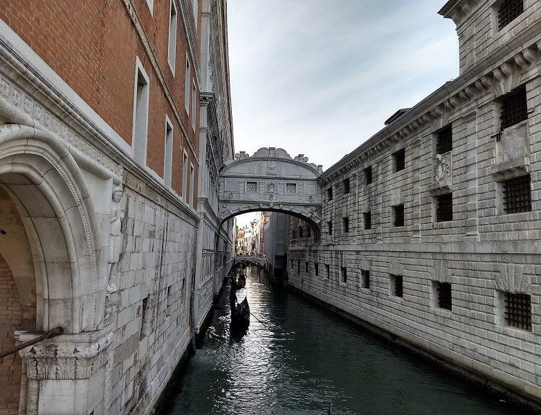 Puente de los suspiros de Venecia 2