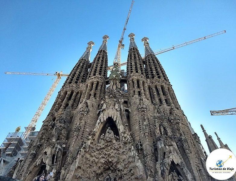 Templo Expiatorio de la Sagrada Familia Barcelona 4