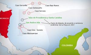 cayo albuquerque mapa