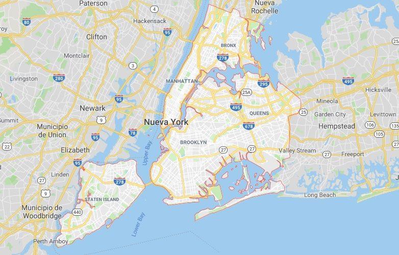 Nueva York mapa 1