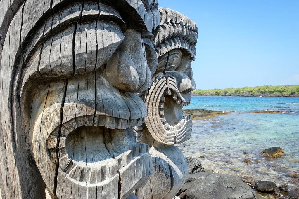 Hawaii Puuhonua o Honaunau National Park