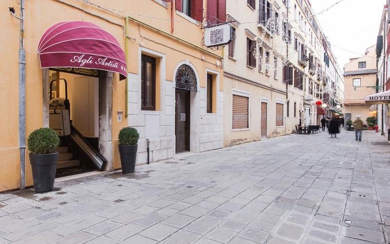 hoteles en Venecia Italia 3 estrellas Hotel Agli Artisti