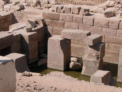 Templo de Seti I en Abidos (Egipto)