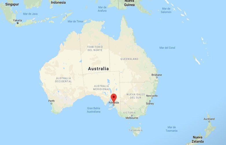 Adelaide Australia mapa 2