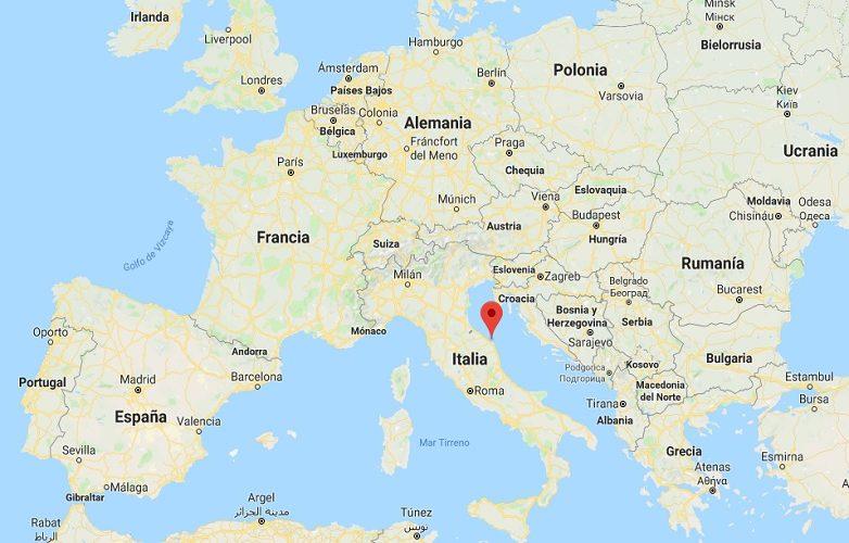Ancona Italia mapa 2