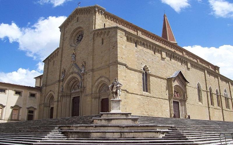 Arezzo Italia Fotos duomo de Arezzo