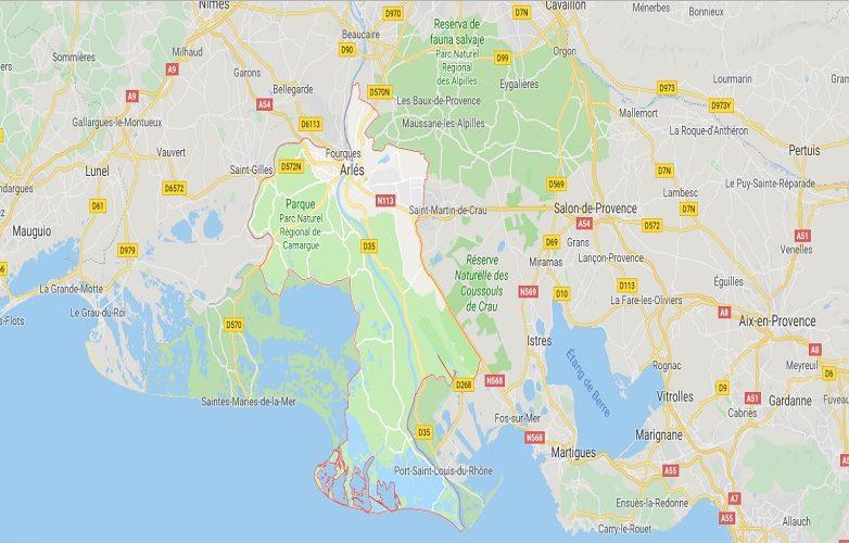 Arlés Mapa 1