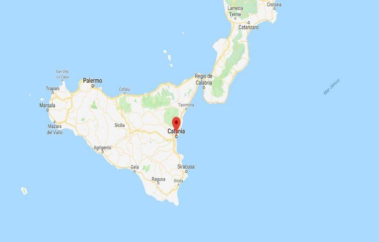 Catania Mapa 2