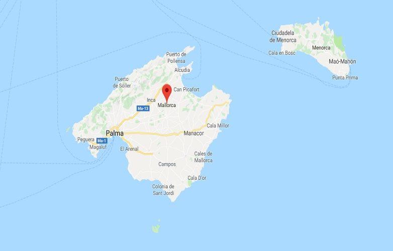 Mallorca Mapa 1
