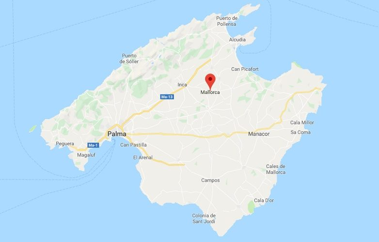 Mallorca Mapa 2