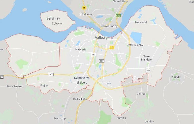 aalborg mapa 1