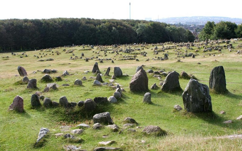 cementerio vikingo más grande de Dinamarca