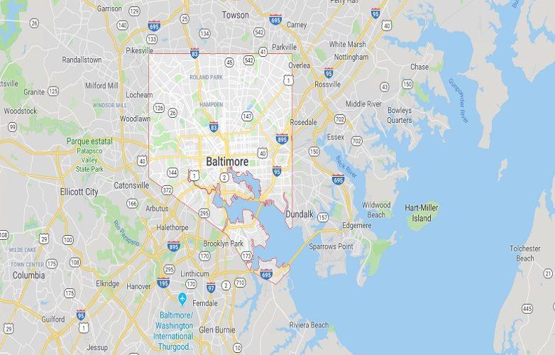 Baltimore mapa 2