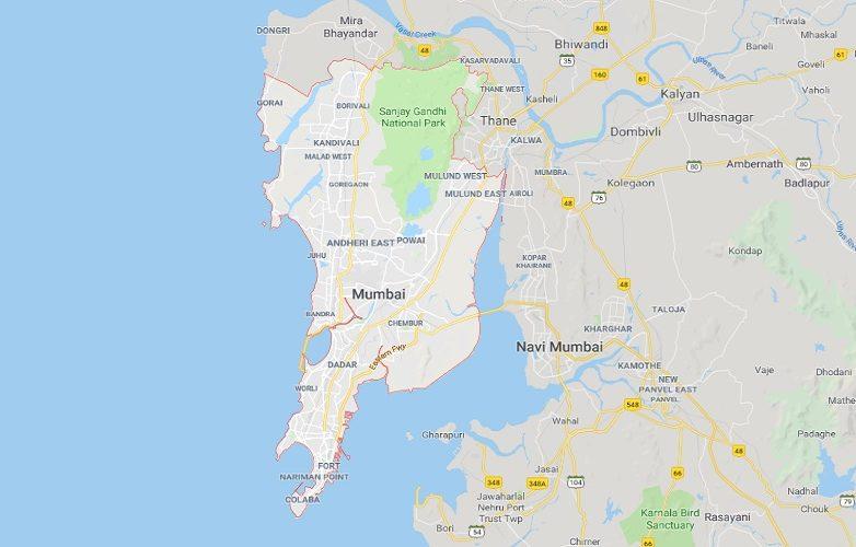 Bombay Mapa – Mumbai Mapa 1