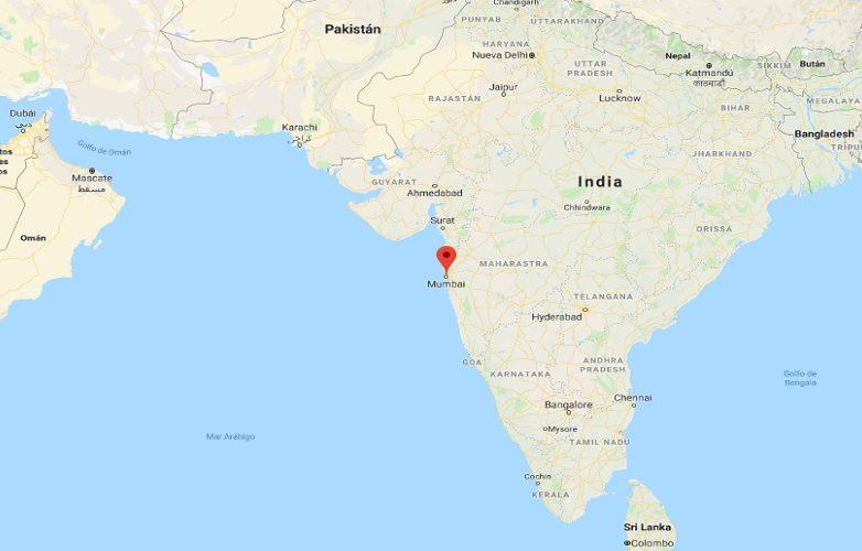 Bombay Mapa – Mumbai Mapa 2
