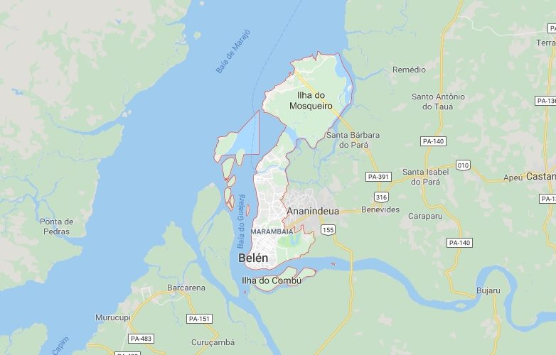 belem brasil mapa 1