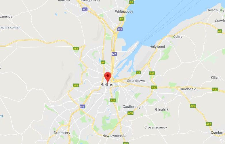 belfast mapa 1