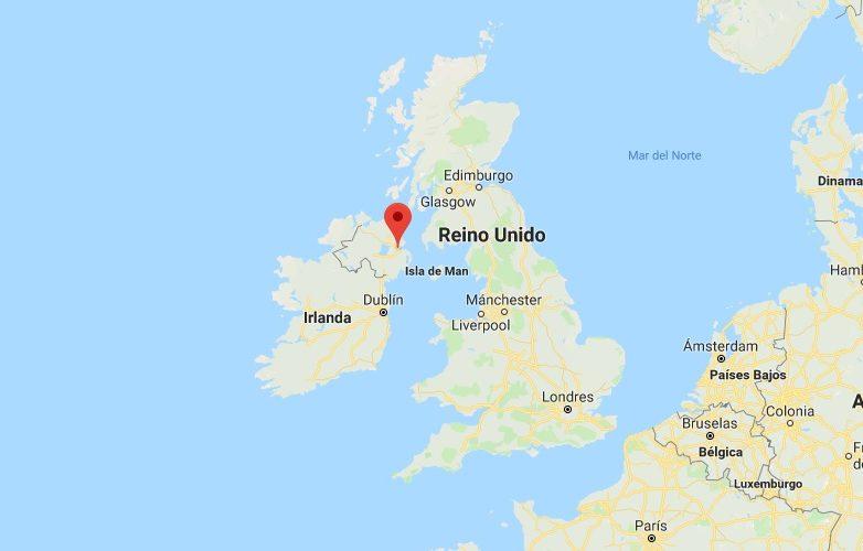 belfast mapa 3