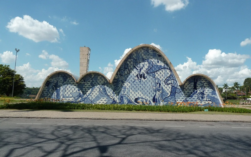 belo horizonte turismo - Iglesia de São Francisco de Asis