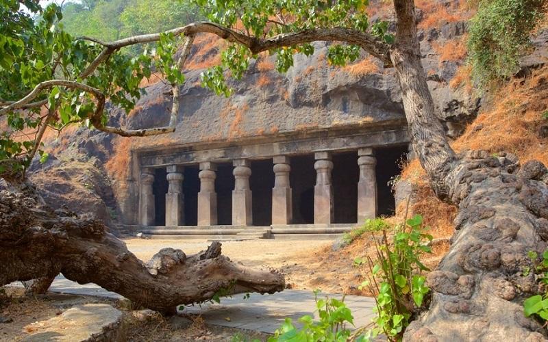 templos-cueva en Maharashtra