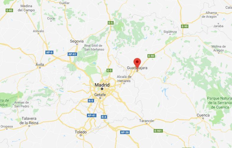 Guadalajara España Mapa 2