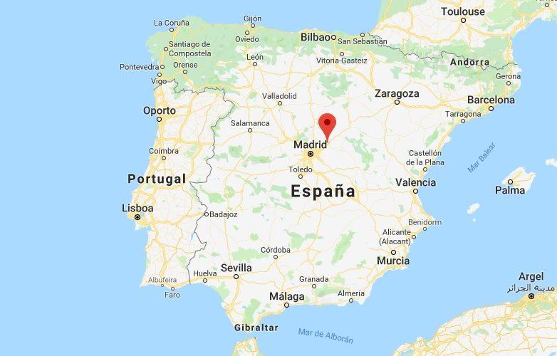 Guadalajara España Mapa 3