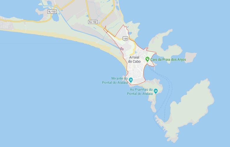 Arraial Do Cabo mapa 1
