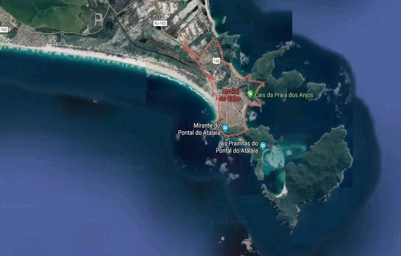 Arraial Do Cabo mapa 2