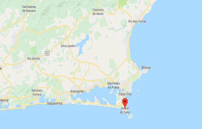 Arraial Do Cabo mapa 3
