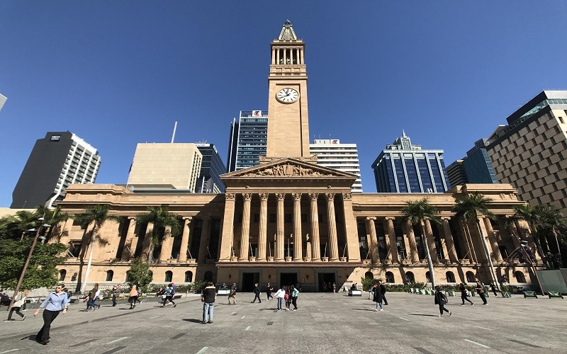 City Hall de Brisbane