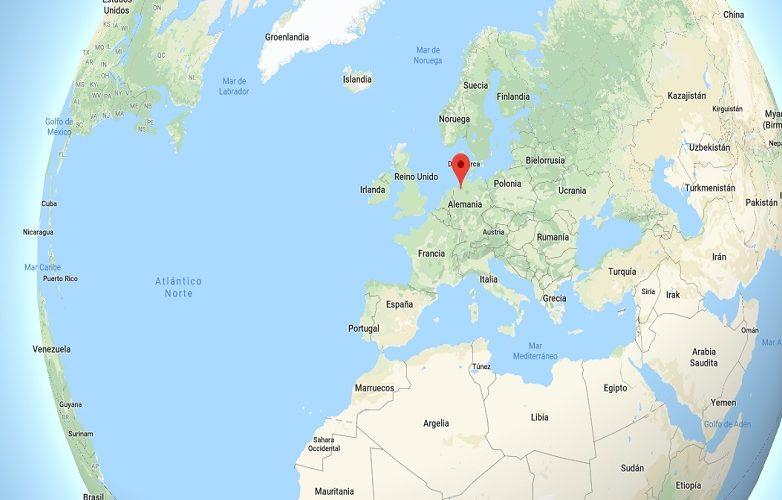 Mapa Bremen Alemania 3